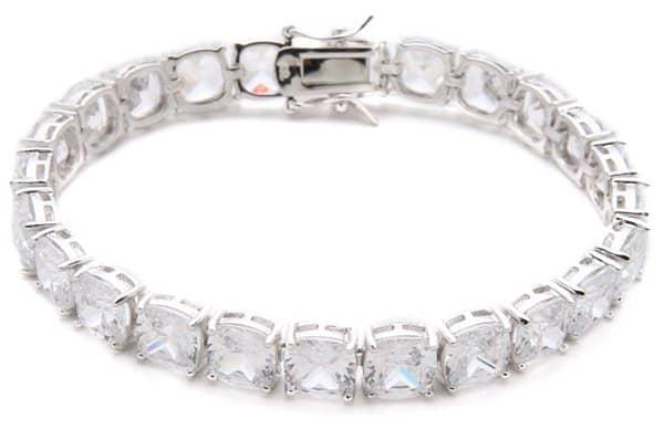Kenneth Jay Lane Cushion Cut Tennis Bracelet