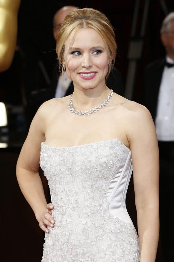 Kristen Bell Piaget Oscars