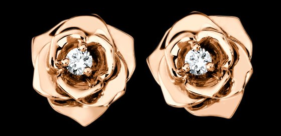 Piaget Rose Earrings