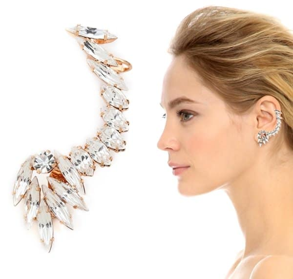 Shay Accessories Clip On Full Ear Cuff