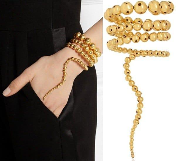 Paula Mendoza Nereus Gold-Plated Bracelet3