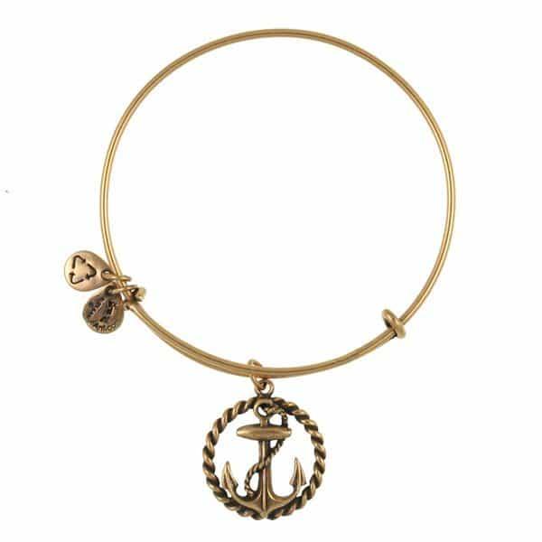 Nautical Charm Bangle