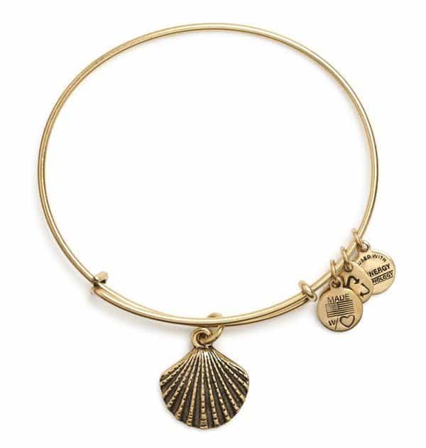 Sea Shell Charm Bangle