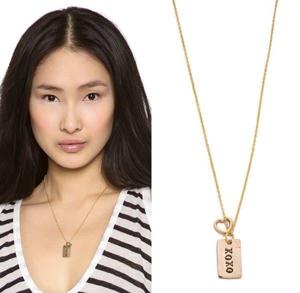 Alisa Michelle Designs XOXO Necklace3