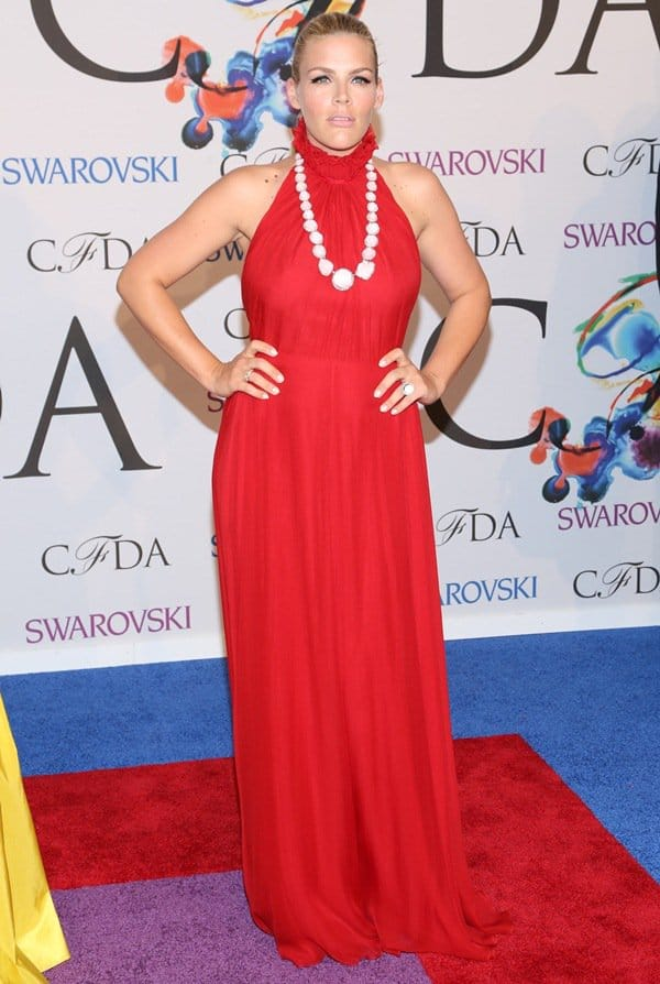 Busy Phillips at the 2014 CFDA Awards held at Lincoln Center's Alice Tully Hall in New York City on June 2, 2014