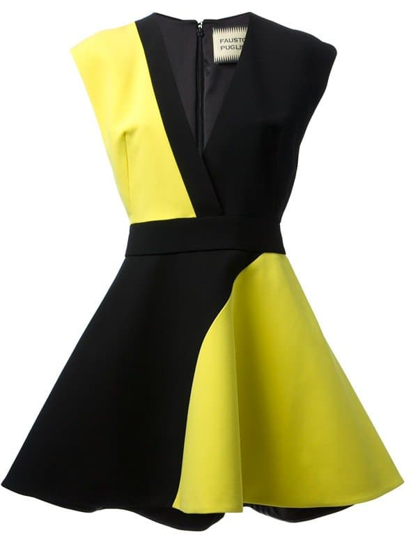 Fausto Puglisi Bi-Colour Dress