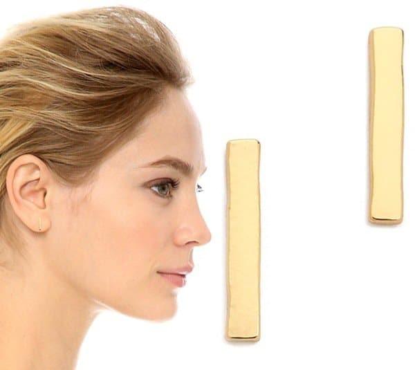 Gorjana Taner Bar Mini Stud Earrings3