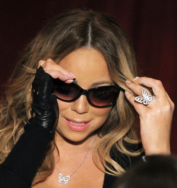 Mariah Carey Butterfly Jewelry3