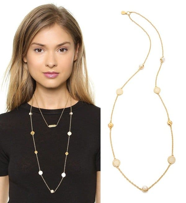 Marc by Marc Jacobs Long Medley Necklace3 width=