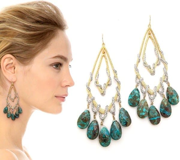 Alexis Bittar Orbiting Tear Vine Earrings3