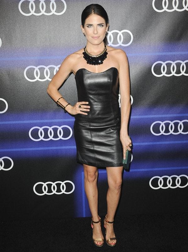 Audi Emmys Week Karla Souza