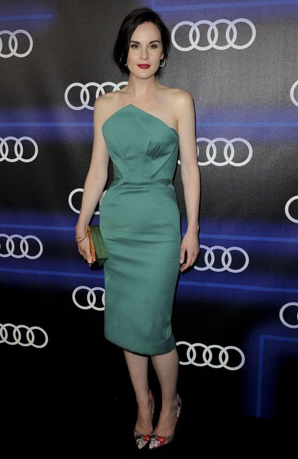 Audi Emmys Week Michelle Dockery