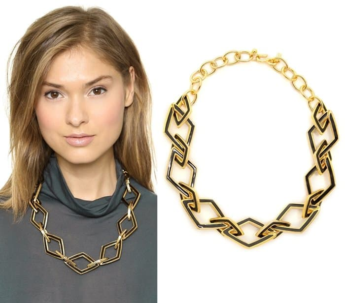 Kenneth Jay Lane Chain Necklace3