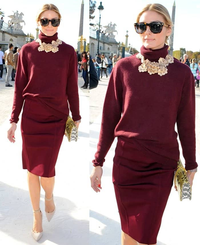 Olivia Palermo Paris Fashion Week5