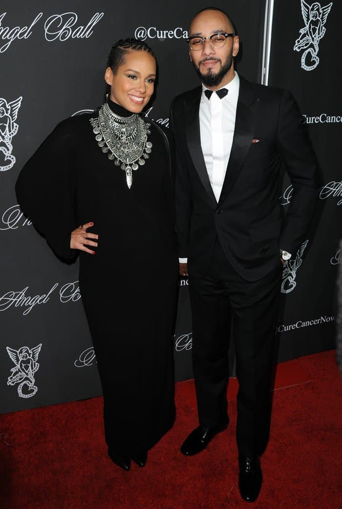 Alicia Keys Angel Ball