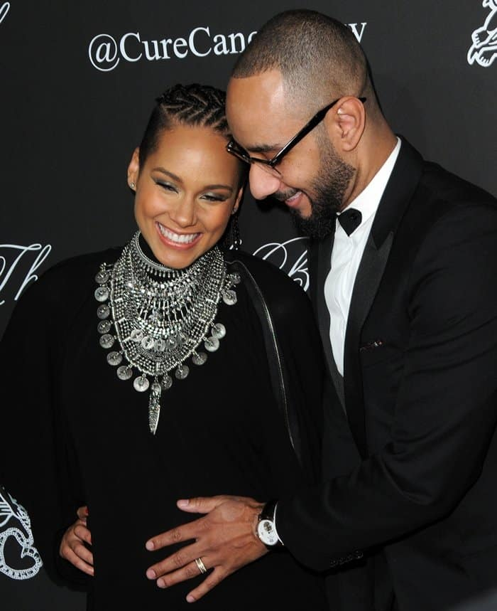 Alicia Keys Angel Ball2