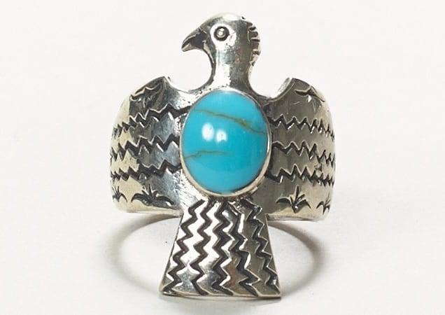 Emerald Duv Silver Peru Ring