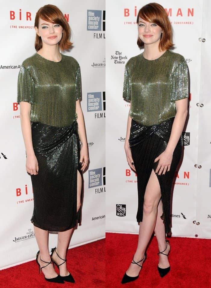 Emma Stone NYFF Birdman5