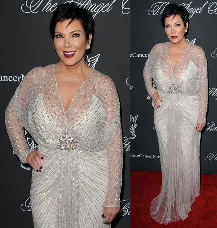 Kris Jenner Angel Ball3