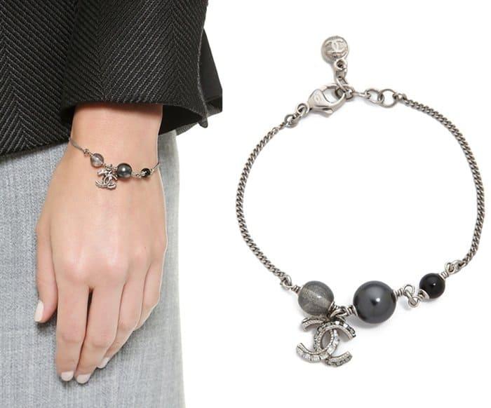 Vintage Chanel Rhinestone Bracelet3