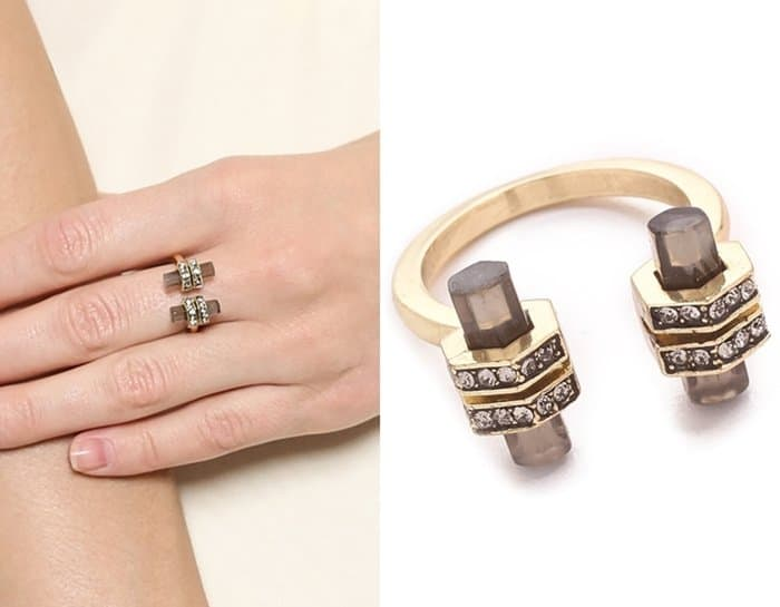 House of Harlow 1960 Chrysalis Ring