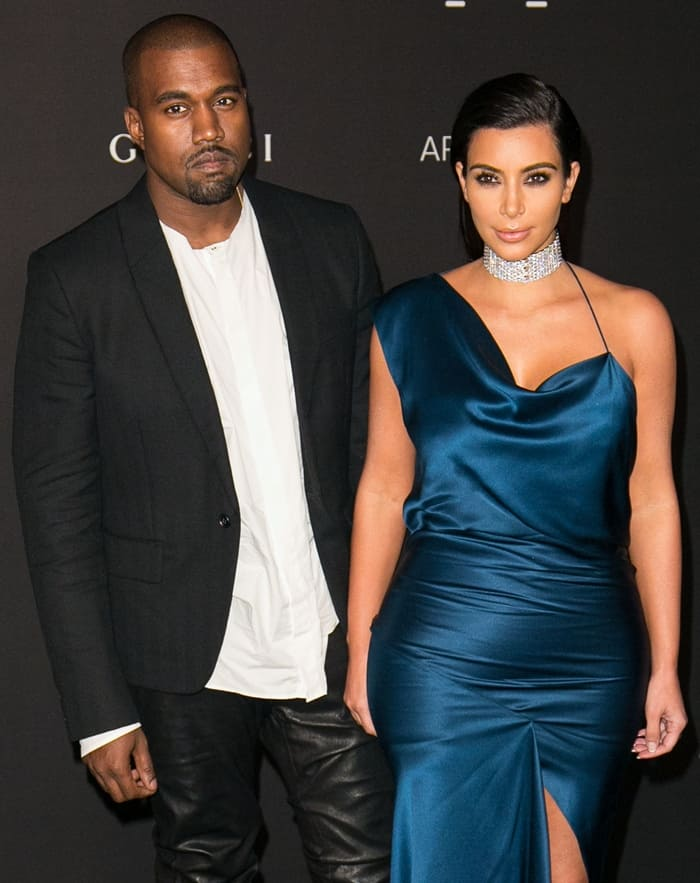 Kim Kardashian Choker6