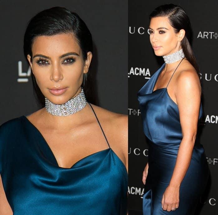 Kim Kardashian Choker8