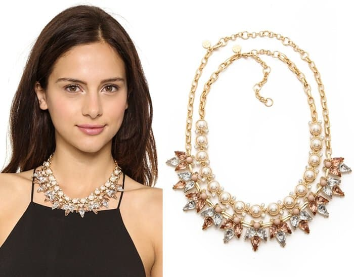 Lee by Lee Angel Crystal & Stone Necklace Set3