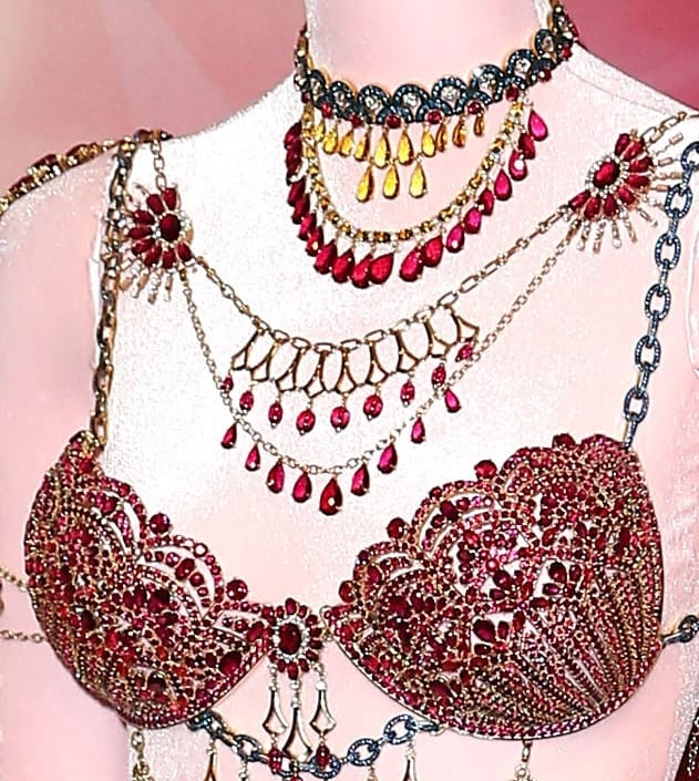 A closer look at the Victoria's Secret Fantasy Bras of 2014