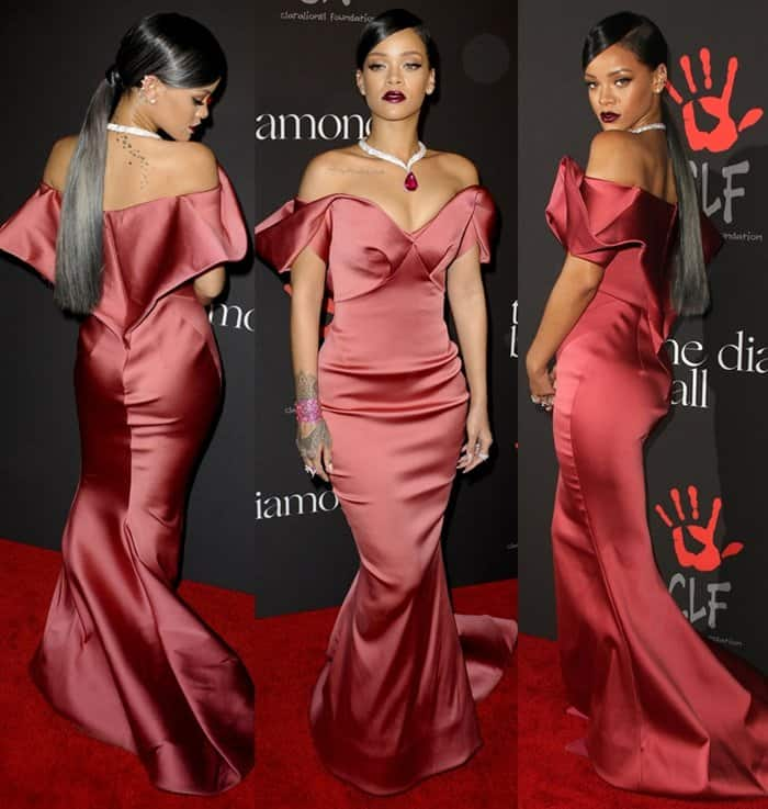Rihanna The Diamond Ball4
