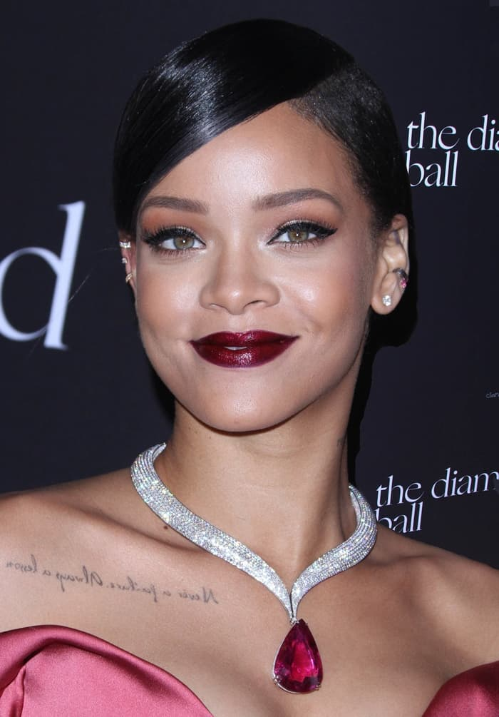 Rihanna's jaw-dropping Chopard tourmaline-and-diamond necklace
