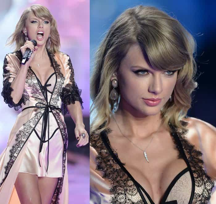 VS Fashion Show Taylor Swift3