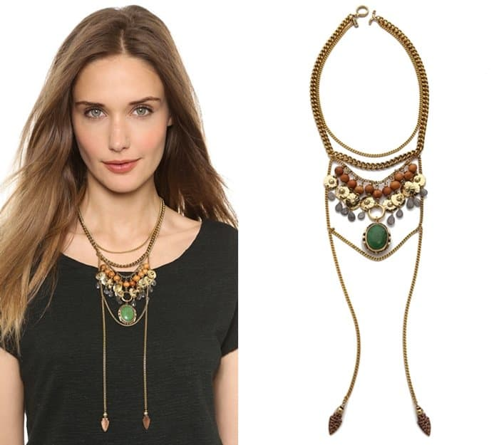 Vanessa Mooney The Flame Statement Necklace3