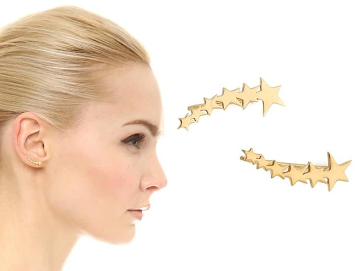 Jennifer Zeuner Jewelry Vega Extended Ear Crawlers