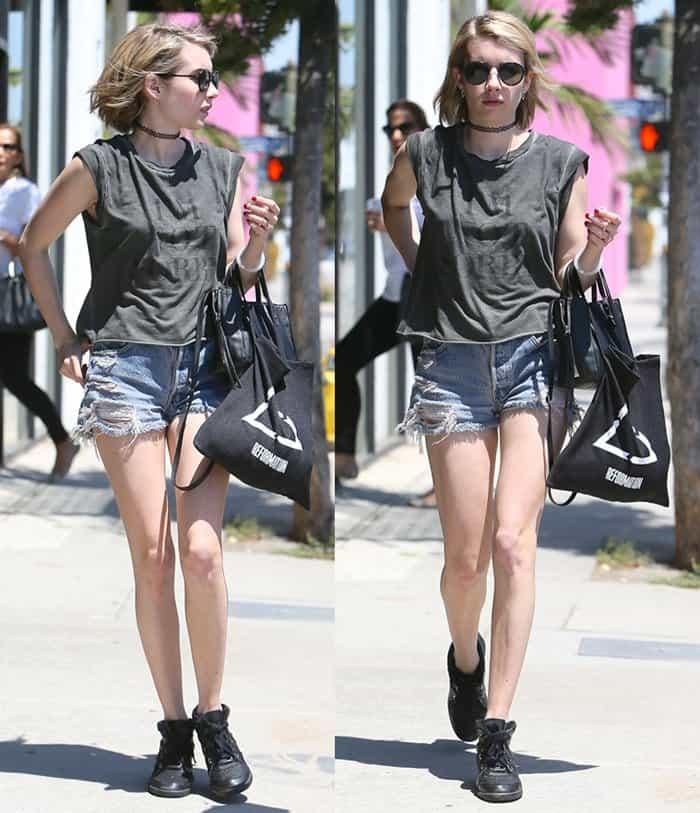 Choker Emma Roberts3