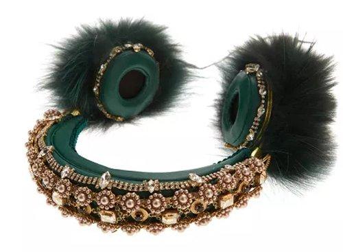 Dolce & Gabbana Green Headphones2