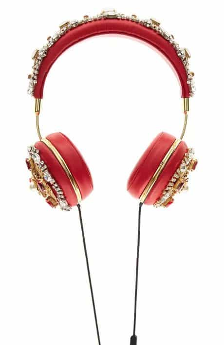 Dolce & Gabbana Red Headphones
