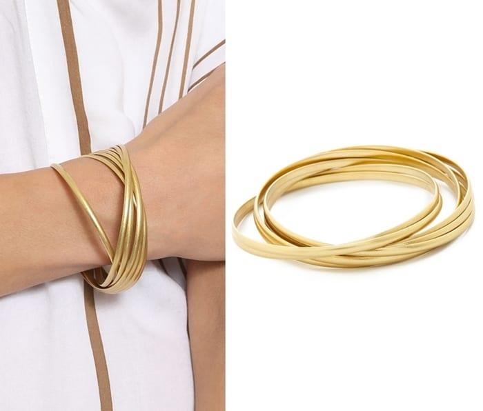 Madewell Intertwine Bangle Bracelet3