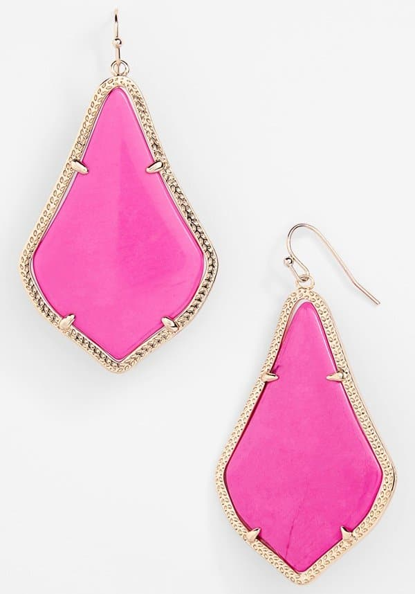 Kendra Scott 'Alexandra' Large Drop Earrings