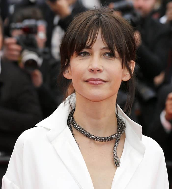 Cannes Jewelry Sophie Marceau3