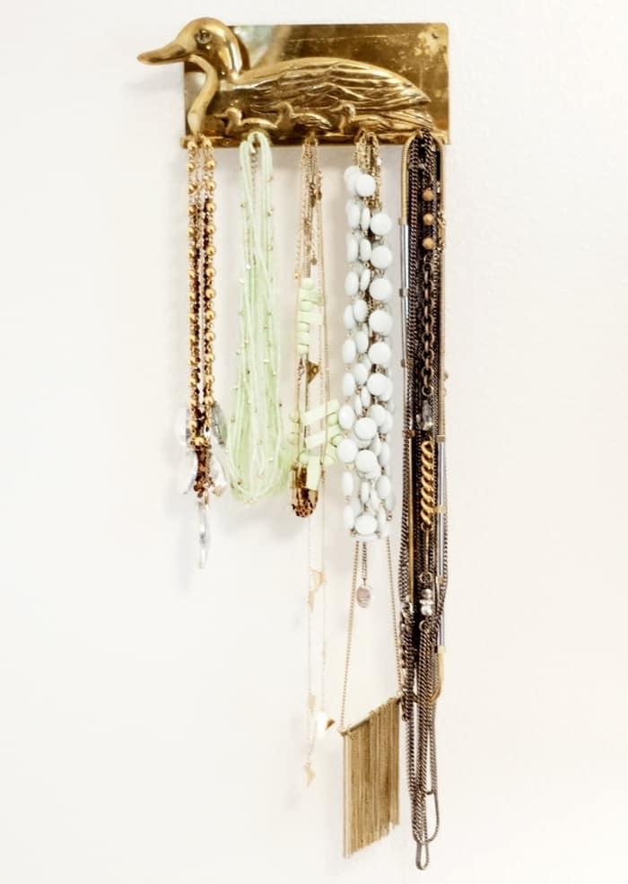 Jewelry Storage Wall Hooks