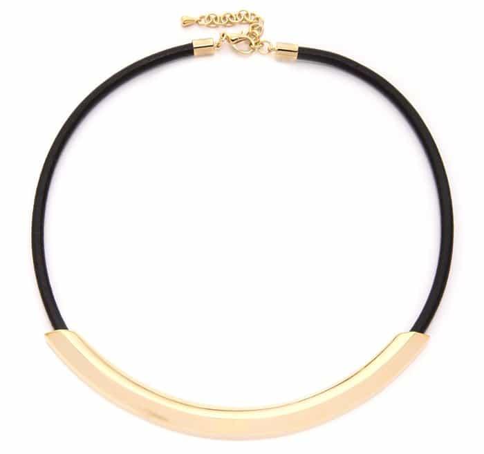 Adia Kibur Simple Choker Necklace