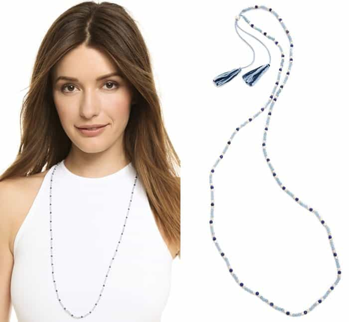 Chan Luu Beaded Tassel Necklace3