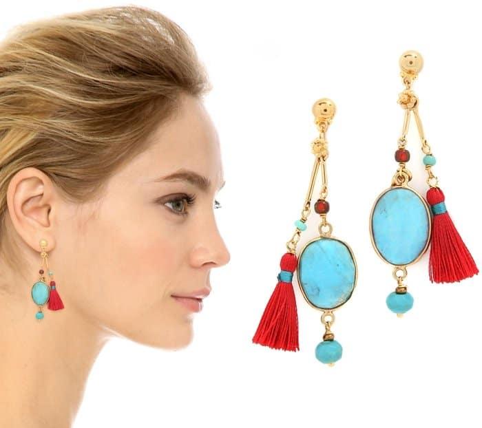 GAS Bijoux Serti Bamboo Earrings3