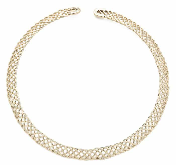 Jules Smith Woven Choker Necklace