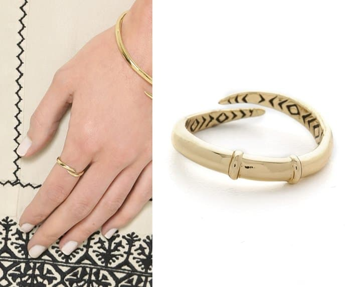House of Harlow 1960 Arid Ring in Gold
