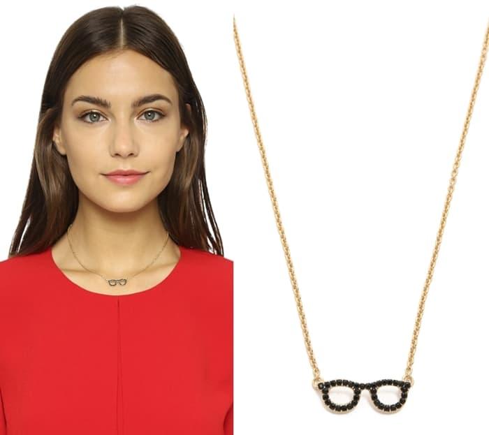 """Kate Spade New York """"Goreski Glasses"""" Necklace"""