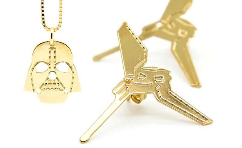 Star Wars Jewelry Collection by Malaika Raiss