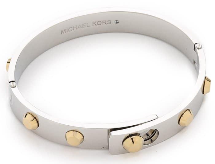Michael Kors Astor Hinge Bangle Bracelet