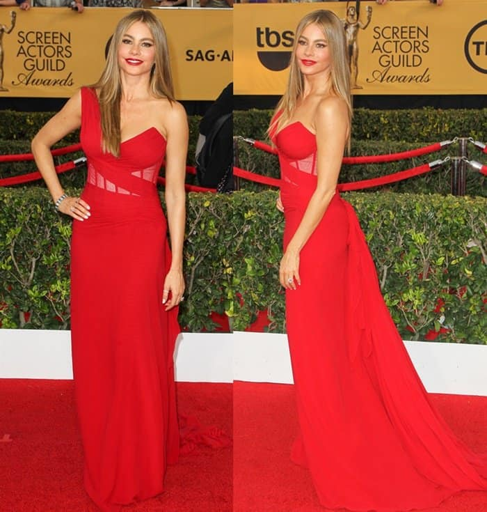 Sofia Vergara at the 21st Annual Screen Actors Guild Awards
